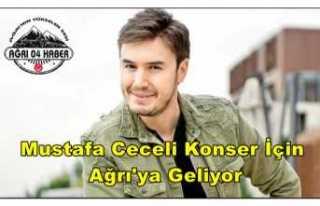 Mustafa Ceceli Ağrı'da Konser Verecek