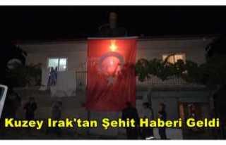 Kuzey Irak'ta Bir Askerimiz Şehit Oldu