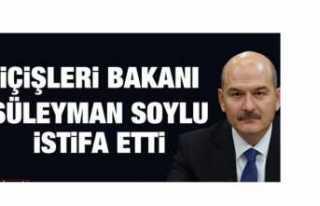 Süleyman Soylu İstifa Etti mi?