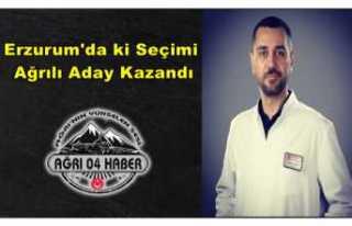 Erzurum'da ki Oda Seçimlerini Ağrılı Aday...