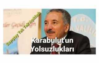 Rektör Karabulut'un Karanlık İşlerini Sayıştay...