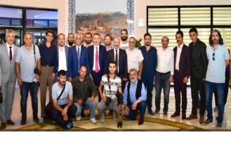 Gazeteciler Elban'a İl Sağlık Müdürü Ali Bulut'u Şikayet Ettiler
