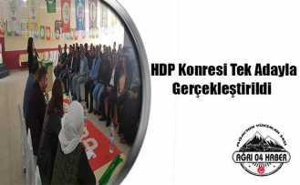 Doğubayazıt HDP Kongresi Yapıldı