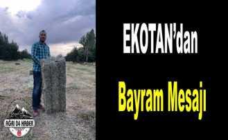 Ekotan'dan Kurban Bayramı Mesajı