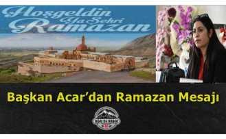 Başkan Acar'dan Ramazan Mesajı