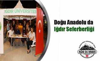 Iğdır Üniversitesi Rektörü Prof. Mehmet Hakkı Alma Seferberlik İlan Etti.