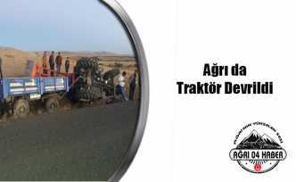 Ağrı Tutak da Trafik Kazası