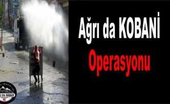Ağrı da Kobani Operasyonu 3 Gözaltı