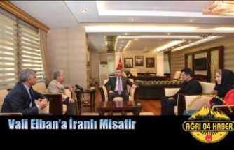 Ağrı Valisine İranlı Misafir