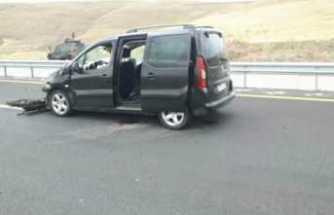 Ağrı da Trafik Kazası 4 Yaralı