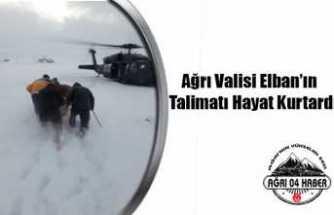 Elban'ın Talimatı Hayat Kurtardı