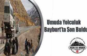 Ağrı'dan Umutla Yolculuk Bayburt'da Son Buldu: Tam 61 Kişi