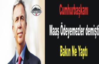 Ankara Mansur  Yavaş'la İlkleri Yaşıyor