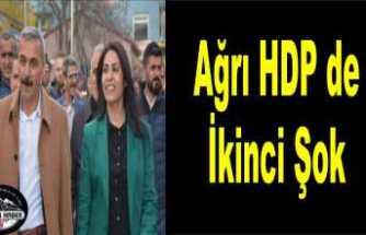 Ağrı HDP Karıştı
