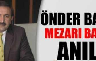 Önder Baydar Kabri Başında Anıldı