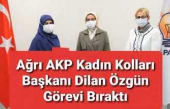 Ağrı AKP de Yaprak Dökümü Devam Ediyor