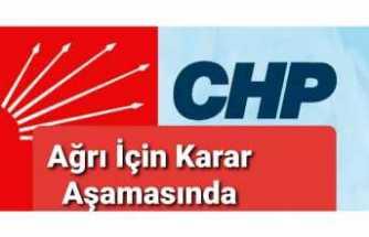 CHP Genel Merkezi Ağrı'yı Konuşuyor