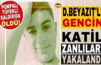 Pompalı Tüfek le Öldürülen Ağrılı Gencin Failleri Yakalandı