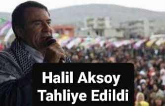 Halil Aksoy Tahliye Edildi