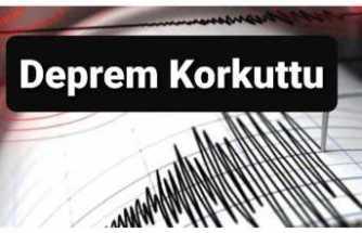Siirt'te Şiddetli Deprem Yaşandı