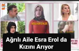 Zorla Alıkonan Ağrılı Genç Kız'ın Ailesi Esra Erol'un Programına  Katıldı