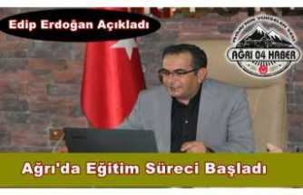 Milli Eğitim Müdür Yardımcısı Edip Erdoğan Açıkladı