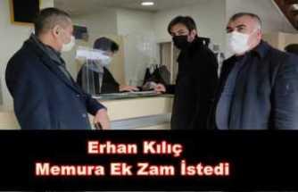 Türkiye Kamu-Sen Ağrı Şubesi Memura Ek Zam Talep Etti