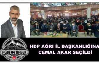 HDP Ağrı İl Başkanlığı Kongresi Tek Adayla Yapılıyor