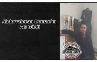Abdurrahman Duman'ın Acı Kaybı