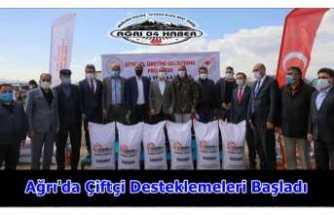 Ağrı'da Çiftçilerin Mutlu Günü