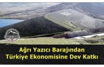 Ağrı Yazıcı Barajından Türk Ekonomisine Katkı