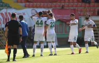 Alanya Spor- Gaziantep Maç Sonucu