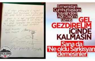 Sarkisyan'dan Küstah Paylaşım