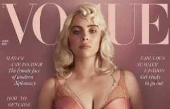 Billie Eilish Vogue dergisi için cesur pozlar verdi