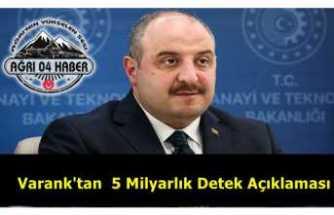 Mustafa Varank 5 Milyarlık Destek Paketini Açıkladı