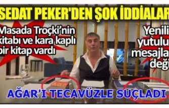 Sedat Peker'den Mehmet Ağar ve Pelikancılara şok Suçlamalar