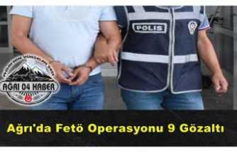 Ankesörlü Telefon Operasyonu 9 Gözaltı