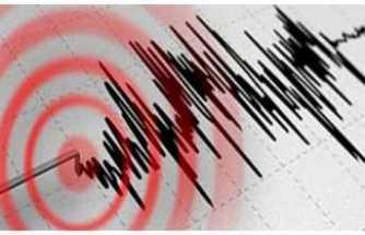 O İlde 5 Şiddetinde Deprem Yaşandı