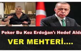 Peker'in Hedefi Erdoğan ''Ver Mehteri''