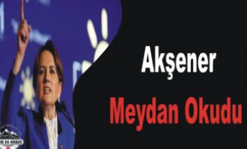 Akşener Türk Siyasetinde İlke İmza Attı