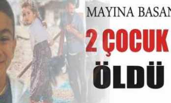 Mayın Patlaması İki Çocuk Öldü