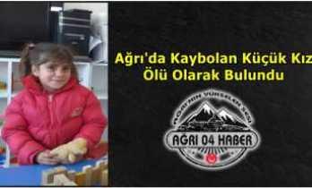 Ağrı'da Kaybolan Küçük Kız Ölü Olarak Bulundu