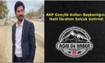 AKP Ağrı Gençlik Kollarında Nöbet Değişimi