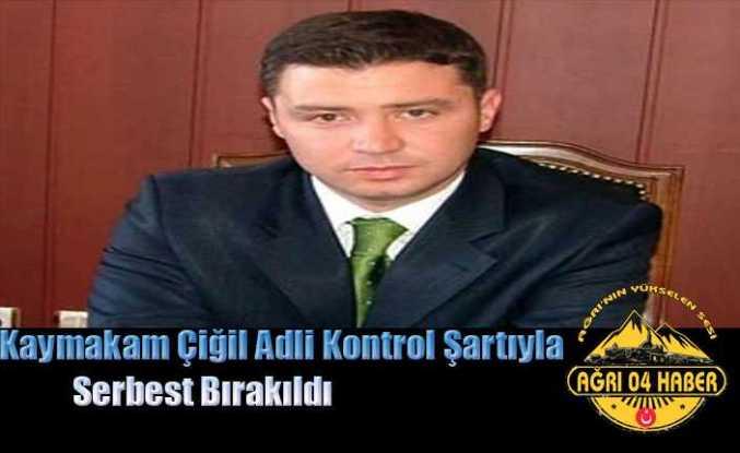 Ahmet İhsan Çiğil Serbest Kaldı