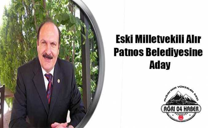 Patnos'a M.Hanifi Alır Aday