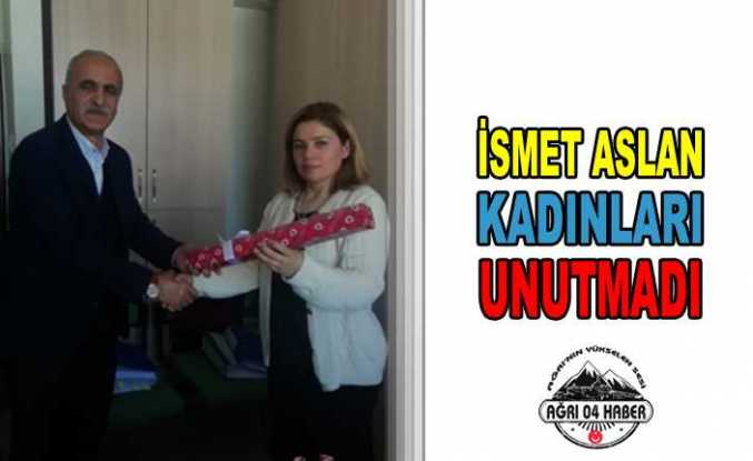 Aslan'dan 8 Mart Dünya Kadınlar Günü Mesajı