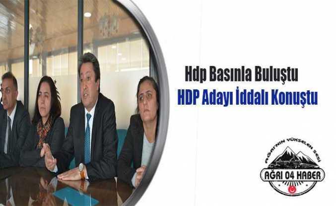 HDP Adayı İddialı Konuştu