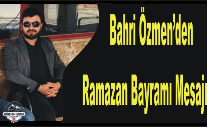 Genç İşadamından Ramazan Tebriği