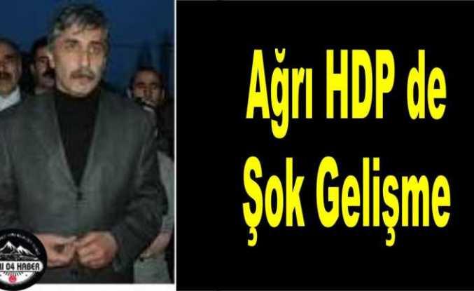 Ağrı HDP de Şok Gelişme