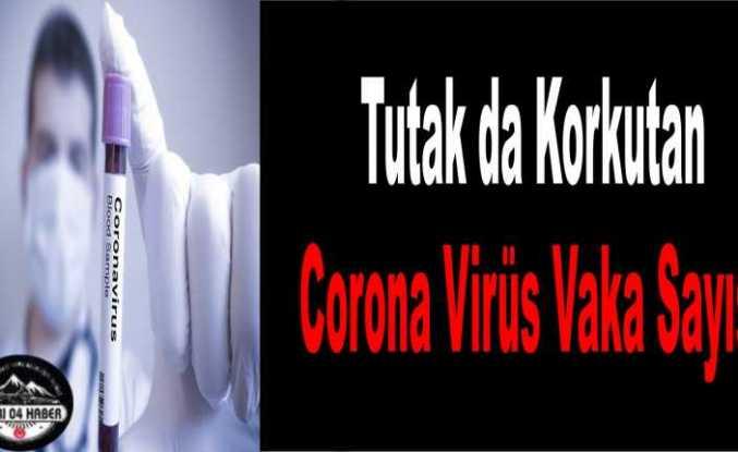 Tutak'ta Ürperten Covid 19 Vaka Sayısı